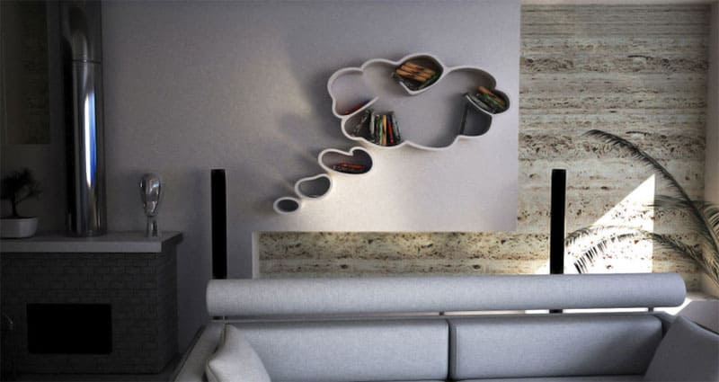 Dream by Dripta 25 Wall Shelves You Need in Your Life